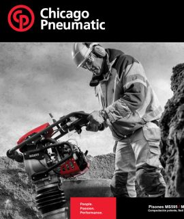 CHICAGO PNEUMATIC MS695